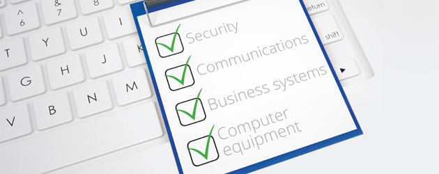 IT Checklist of General IT Services